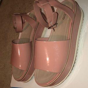 ALDO thick platform sandals